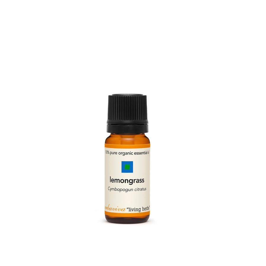 Erbaviva Lemongrass Essential Oil, cymbopogon citr - 10ml