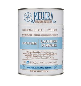 Meliora Meliora Laundry Powder, 64 Loads Unscented - 35 oz.