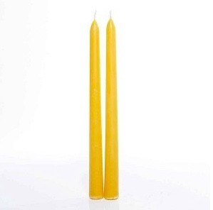 Bee Organic Organic Beeswax Taper Candle - Single