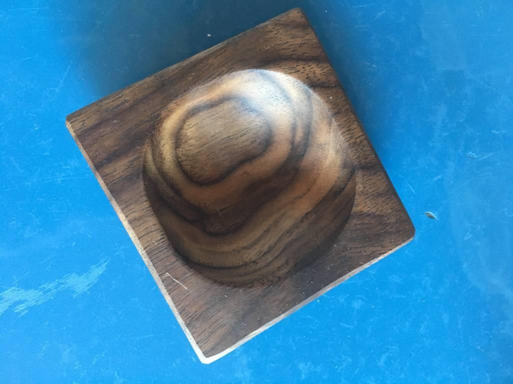 Peg and Awl Pinch Bowl - Walnut
