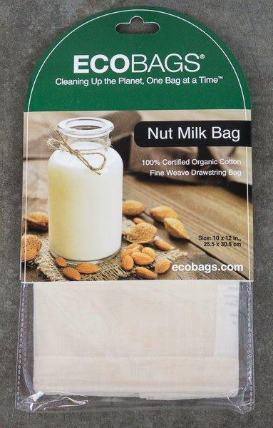 Organic Nut Milk Bag 10 X 12