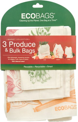 Eco Bags Produce Bags, Set of 3