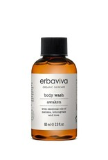 Erbaviva Awaken Body Wash, Travel - 60ml / 2 fl. oz.