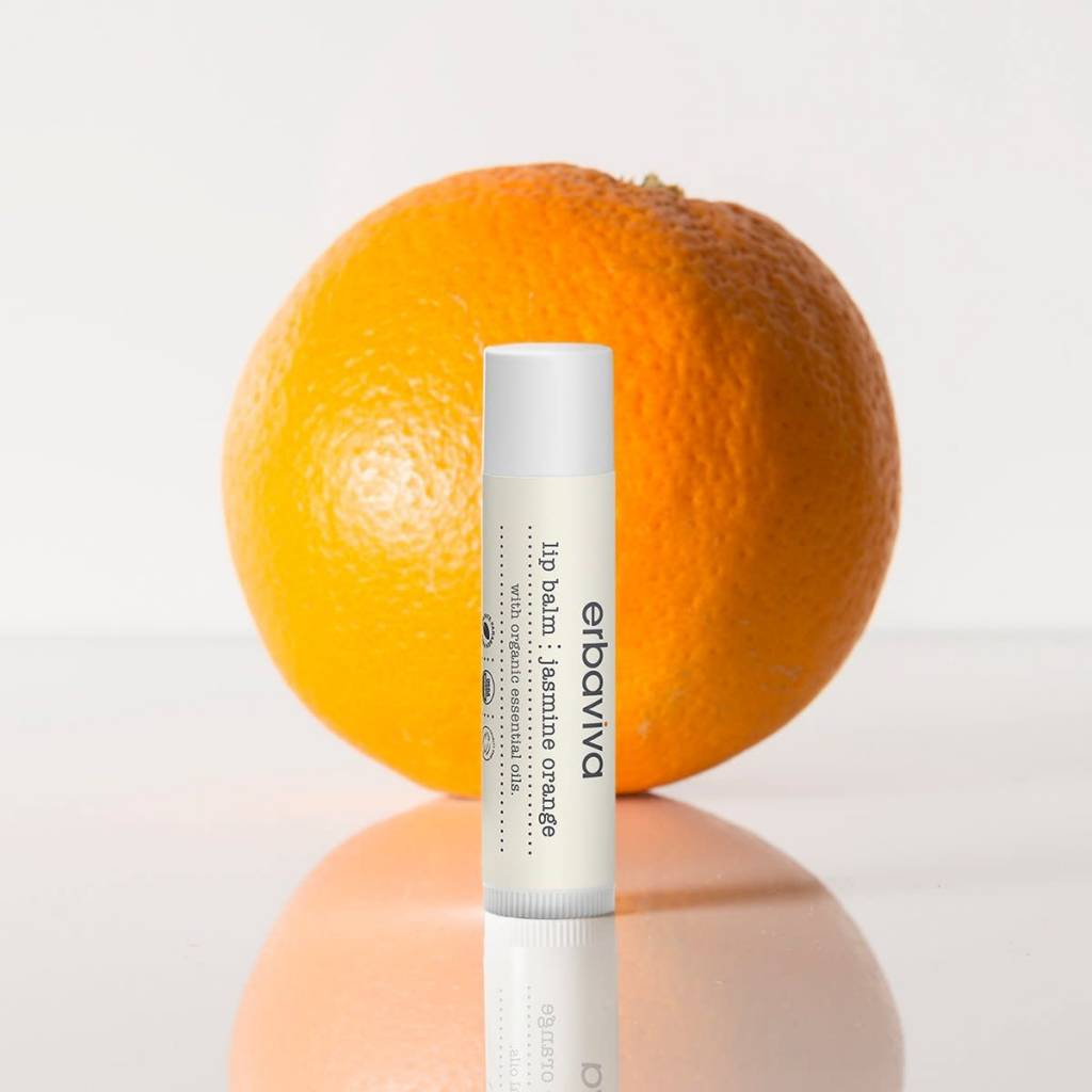 Erbaviva Lip Balm, Jasmine Orange - .16oz