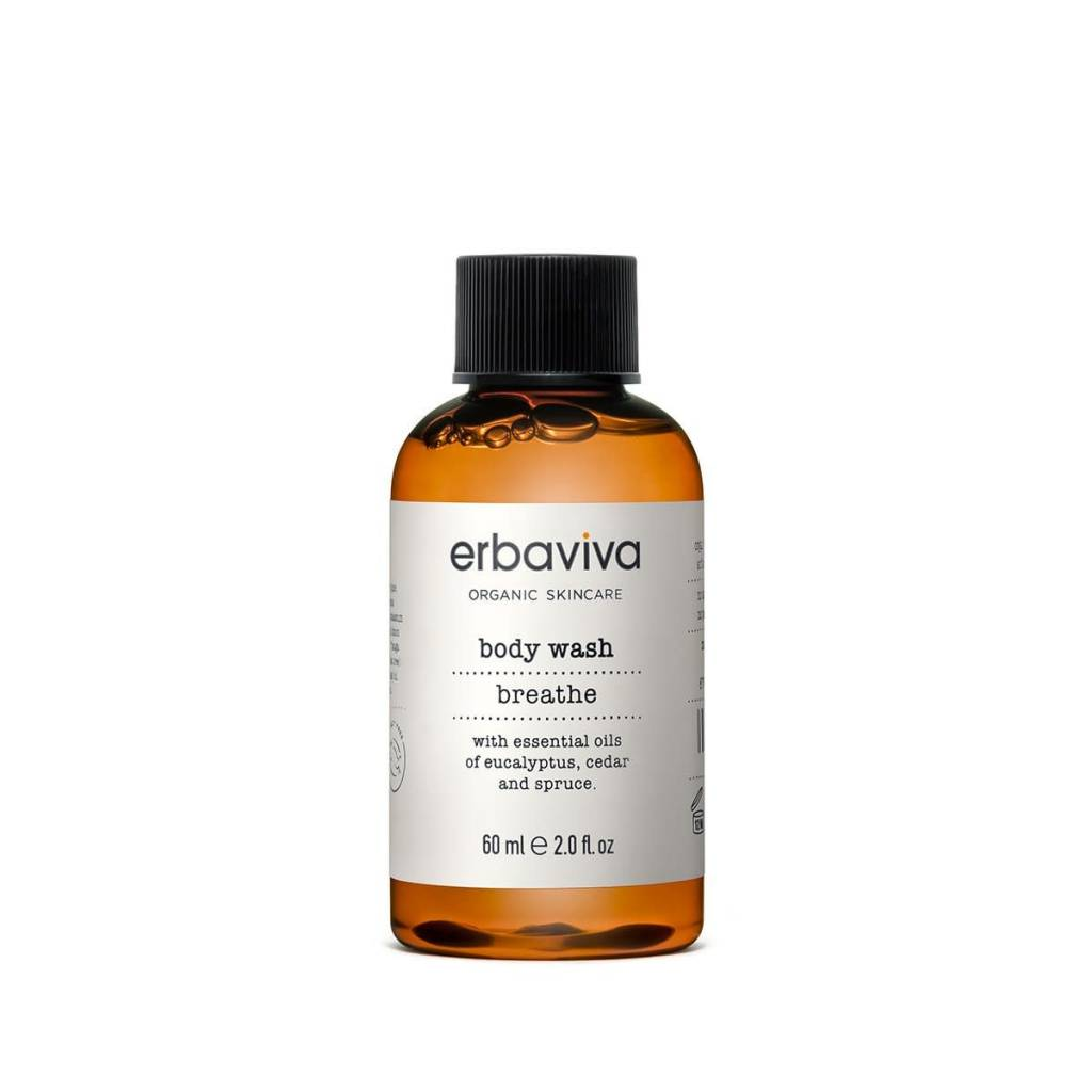 Erbaviva Breathe Body Wash, Travel - 60ml / 2 fl. oz.