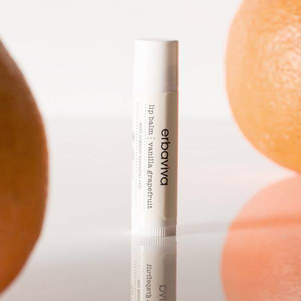 Erbaviva Lip Balm, Vanilla Grapefruit - .16oz