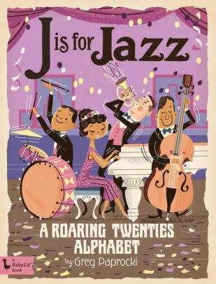 Baby Lit J is for Jazz Board Book