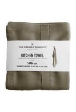 The Organic Company Organic Kitchen Towel, Clay