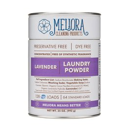 Meliora Meliora Laundry Powder, 64 Loads Lavender - 35 oz.