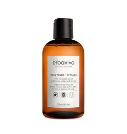 Erbaviva Breathe Body Wash, 8 fl oz