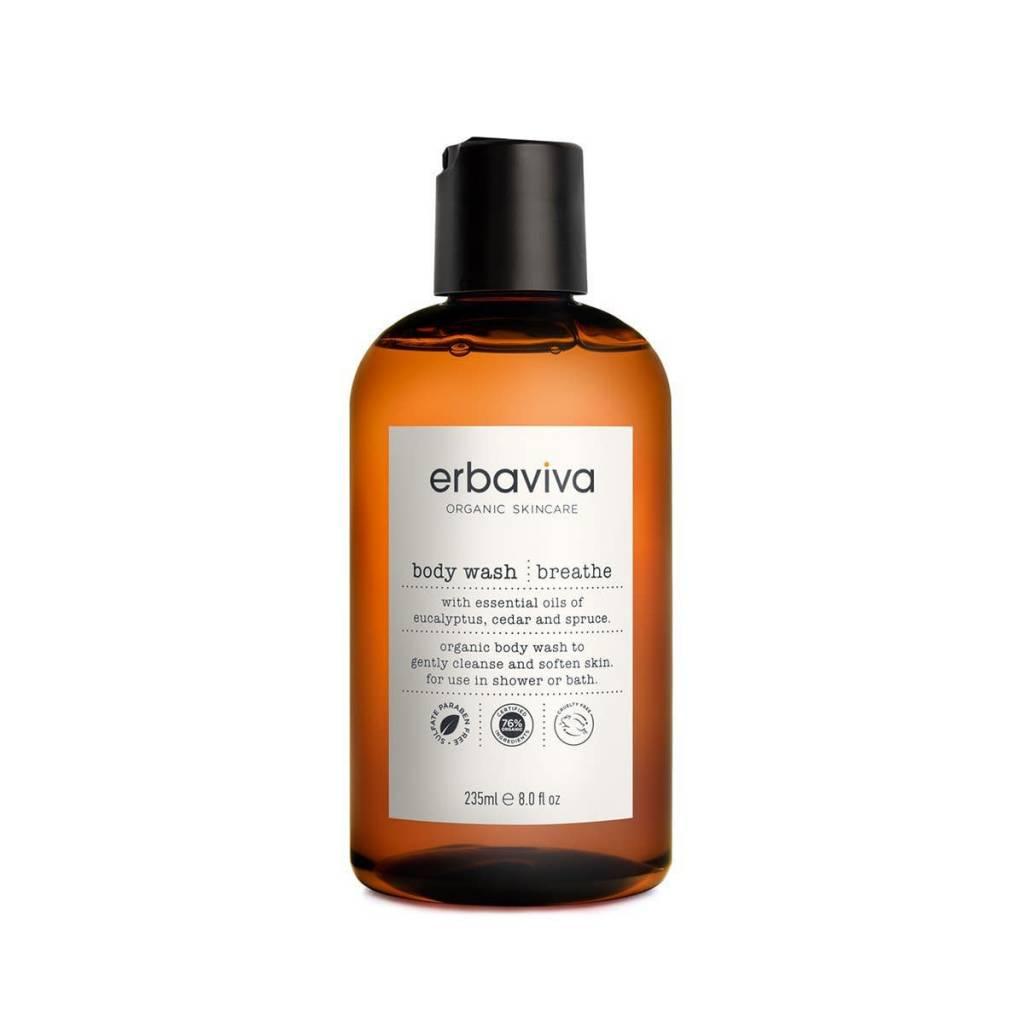 Erbaviva Breathe Body Wash, 8 fl oz