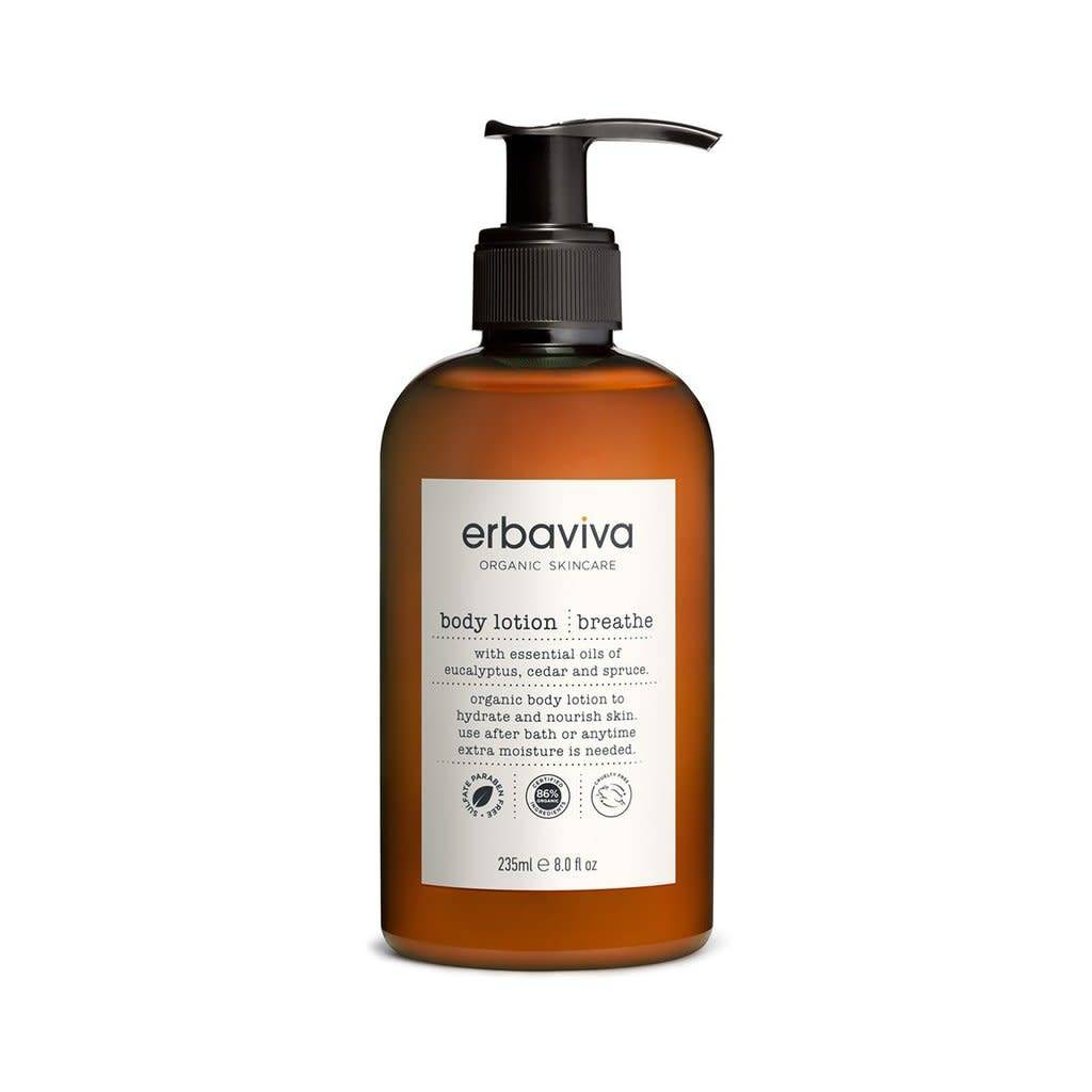 Erbaviva Breathe Body Lotion, 8 fl oz