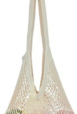 Eco Bags Organic String Market Bag, Long Handle, Natural