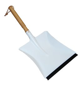 Burstenhaus Redecker Dust Pan, White Metal