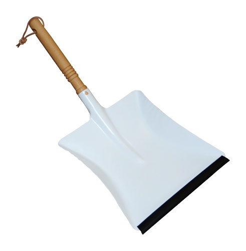 Burstenhaus Redecker Dust Pan, Powder Coated - White
