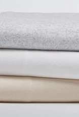 Coyuchi Cloud Brushed Flannel Crib Sheet - Undyed
