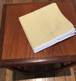 "Coyuchi Waffle Organic Kitchen Towel, 20"" x 30"" - Yellow"