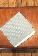 "Coyuchi Waffle Organic Kitchen Towel, 20"" x 30"" - Lt. Blue"