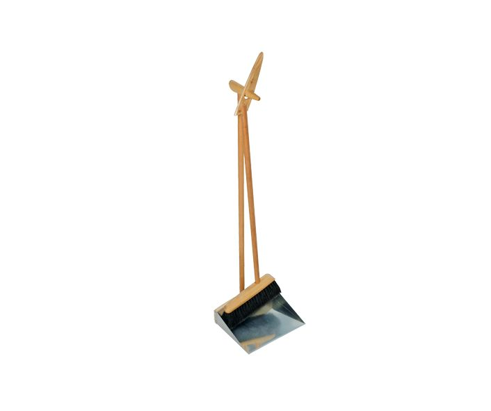 Burstenhaus Redecker Standing Broom and Dust Pan - 90 cm