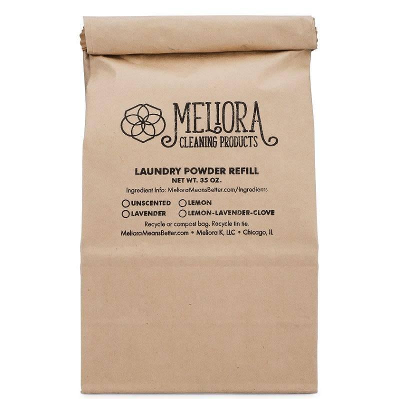 Meliora Meliora Laundry Powder Refill, 64 Loads Lavender - 35 oz.