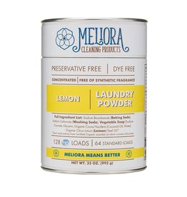 Meliora Meliora Laundry Powder, 64 Loads Lemon - 35 oz.
