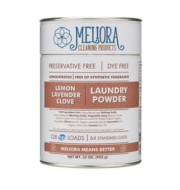 Meliora Meliora Laundry Powder, 64 Loads Lemon, Lavender, Clove - 35 oz.