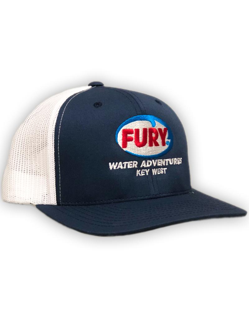 Yupoong Navy Fury Snapback