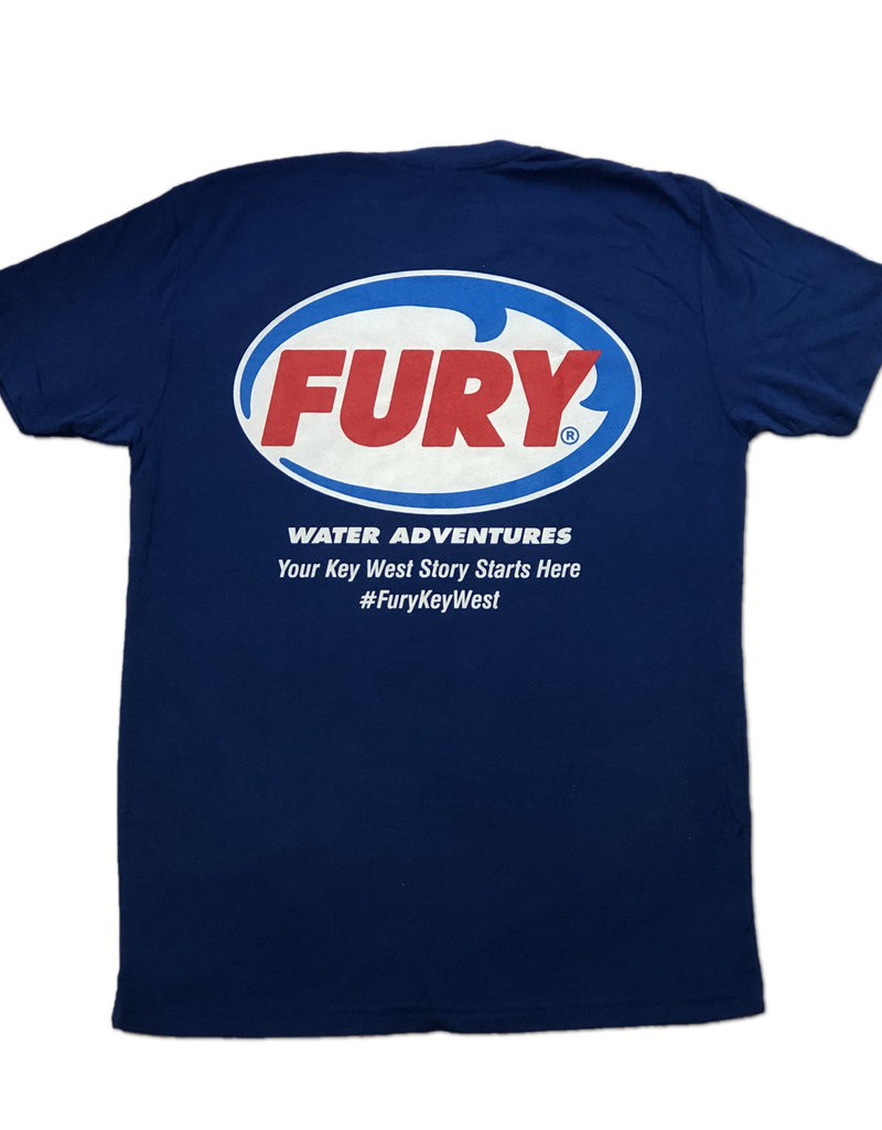 Fury SS Royal T-Shirt