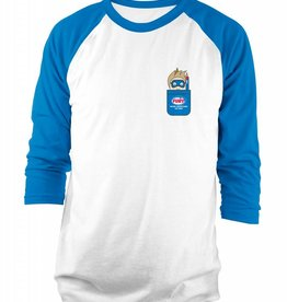 Next Level Fury Kids Baseball T-shirt