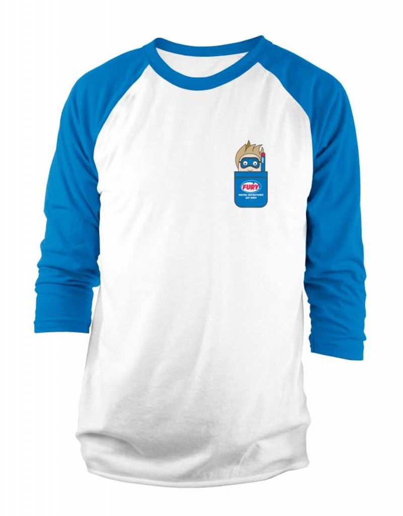 Fury Kids Baseball Tee