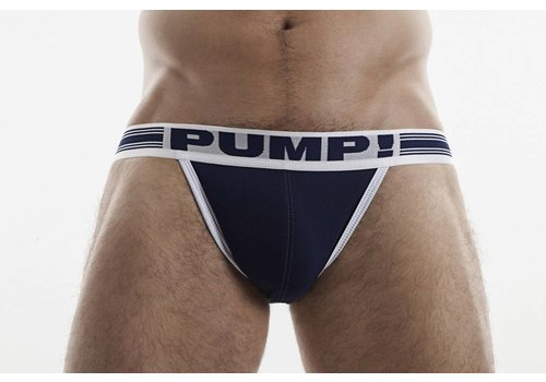 PUMP! Navy  Free-Fit Jock
