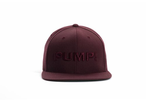 PUMP! All Burgundy Snapback