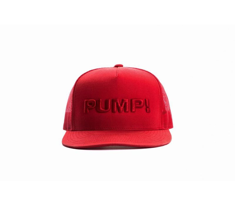 All Red Ball Cap