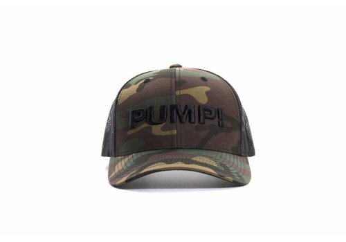 PUMP! Military Ball Cap