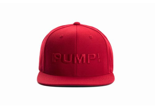 PUMP! All Red Snapback