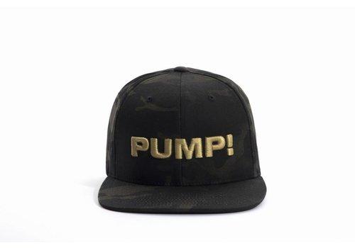 PUMP! Dark Military Snapback