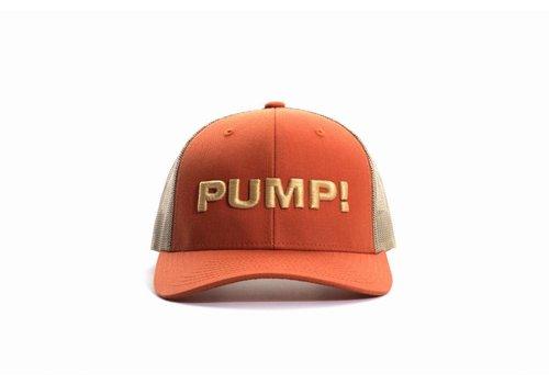 PUMP! Burnt Orange Ball Cap