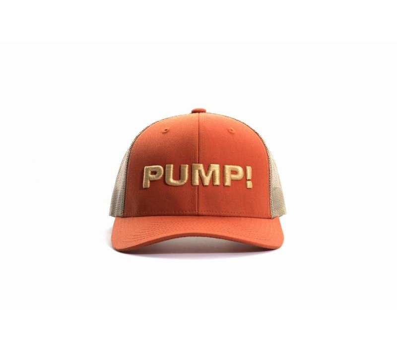 Burnt Orange Ball Cap