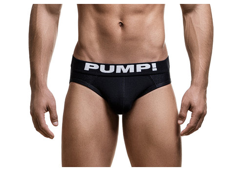 PUMP! Black Classic Brief