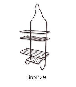 SANDRA VENDETTI SHOWER CADDY BRONZE (MP12)