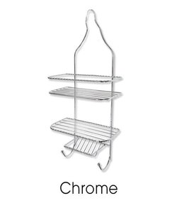 SANDRA VENDETTI *SHOWER CADDY CHROME (MP12)