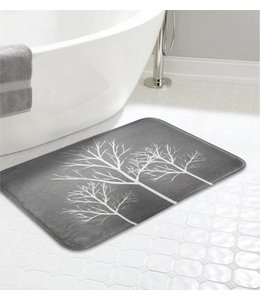 "LAUREN TAYLOR TREES MEMORY FOAM BATHMAT AST 20X30"" (MP12)"