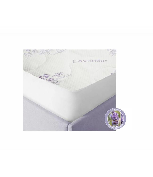 W HOME LAVENDER INFUSED MATTRESS PROTECTOR WHITE (MP6)
