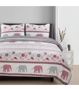 LAUREN TAYLOR MACRAE COLLECTION QUILT SET (MP4)