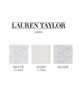 LAUREN TAYLOR JACQUARD TABLECLOTHS (MP12)