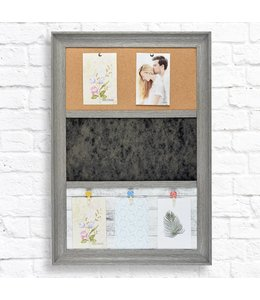 "STUDIO 707 TRIO MESSAGE BOARD 18X26X1.5"" (MP8)"