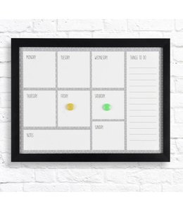 "STUDIO 707 WEEKLY PLANNER BOARD 15X19X1"" (MP8)"