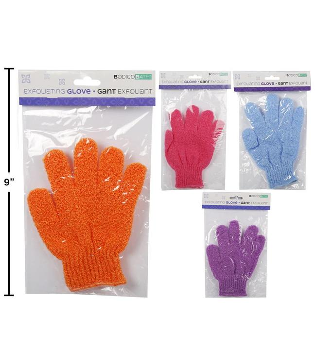 SOLID EXFOLIATING GLOVES AST (MP48)