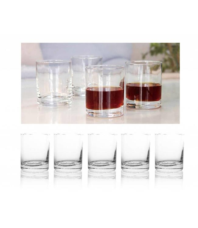 8PK CLEAR 13.5oz DRINKING GLASS (MP6)