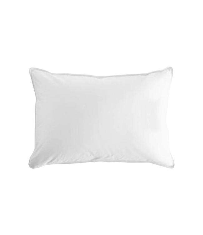 W HOME HUNGARIAN SINGLE CHAMBER WHITE DUCK DOWN PILLOW (MP6)